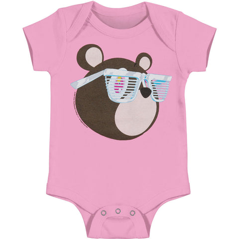 Dropout Bear Onesie (Pink)