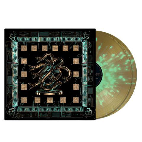 Chunky Shrapnel 2LP (Gold with Heavy Green Splatter) // PREORDER