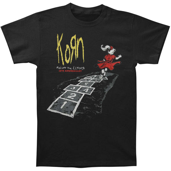 Korn merch Follow The Leader Tee (Black)