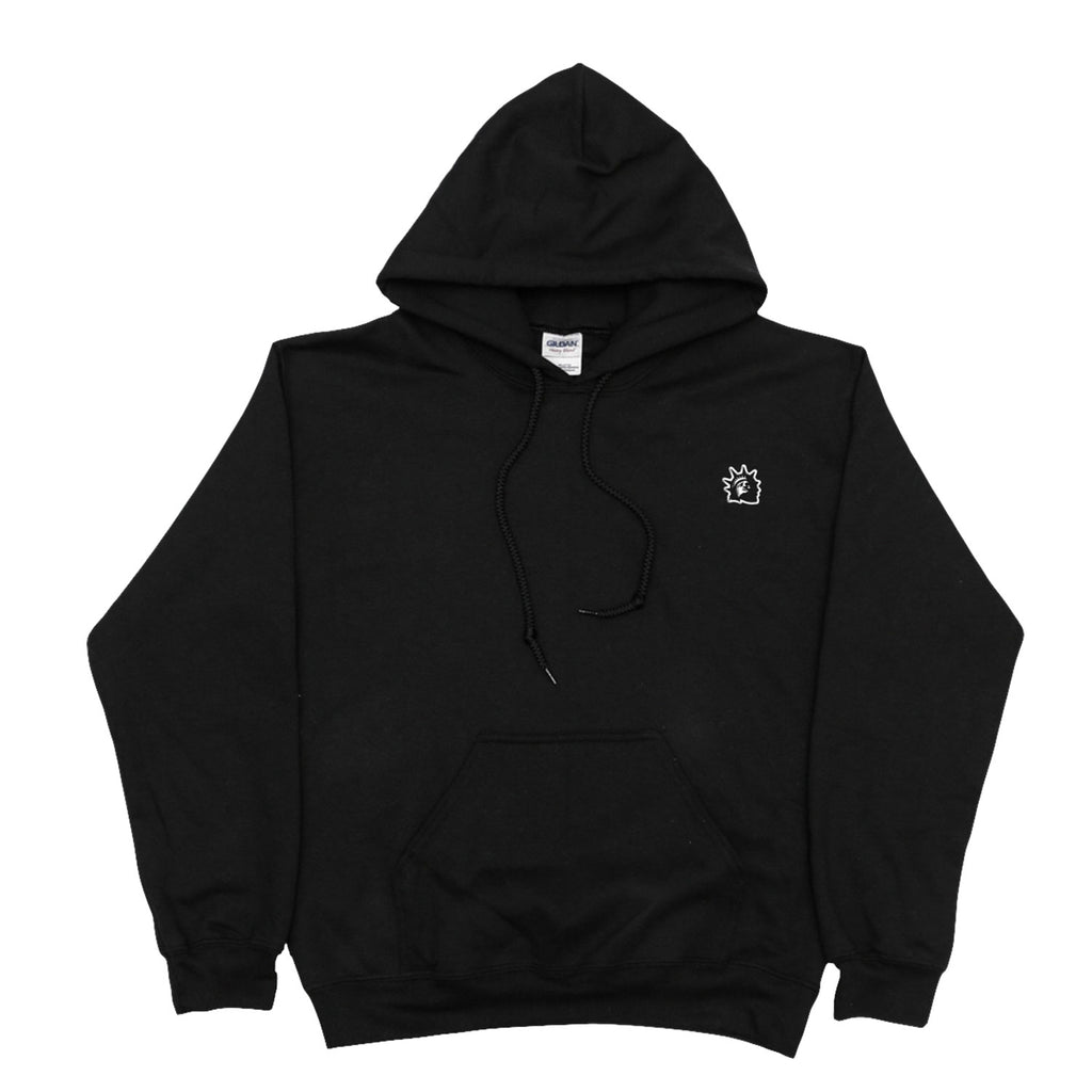 Embroidered Liberty Hoodie (Black)