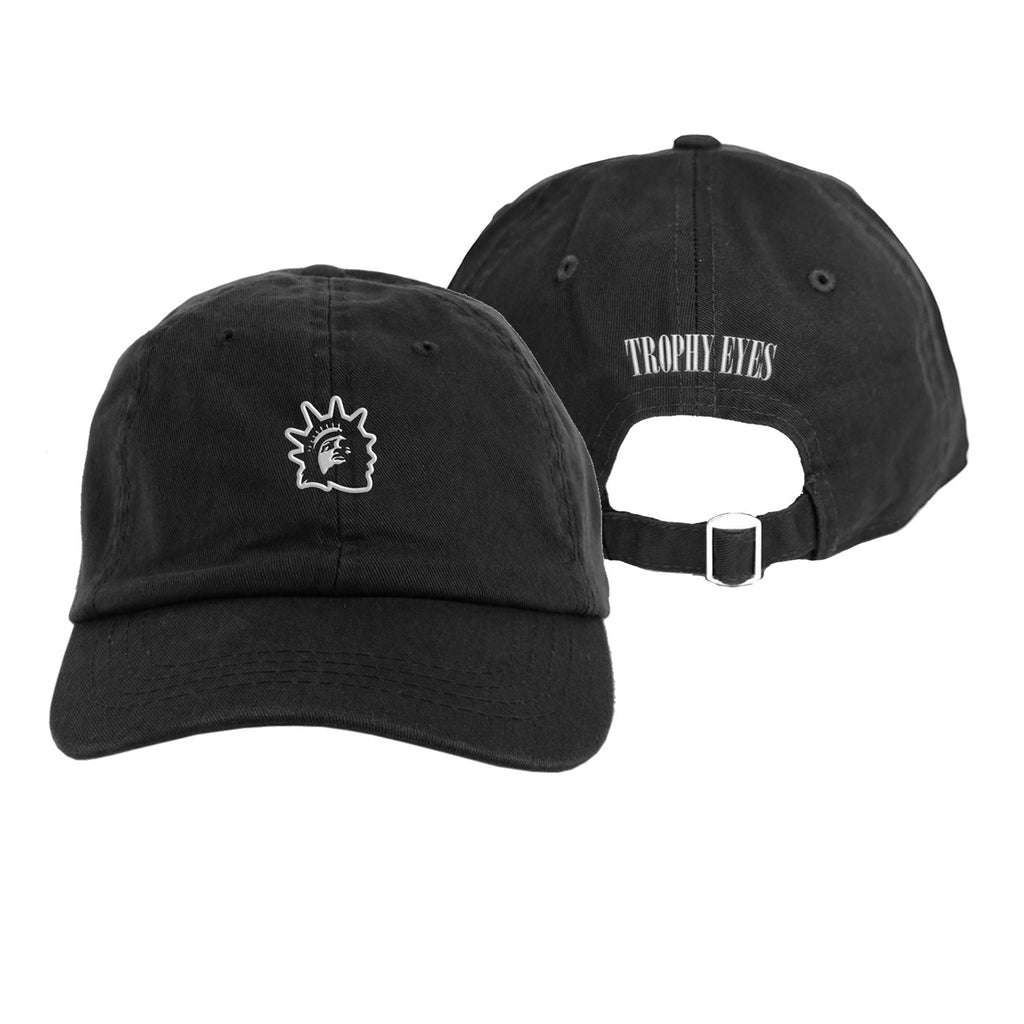 Embroidered Liberty Cap (Black)