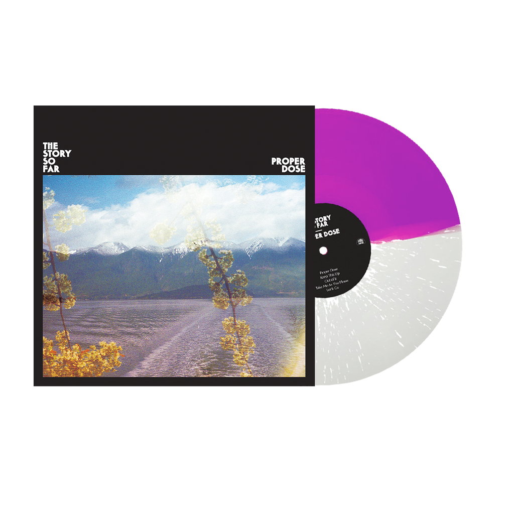 "Proper Dose 12"" Vinyl (Half Purple / Half Clear with White Splatter)"
