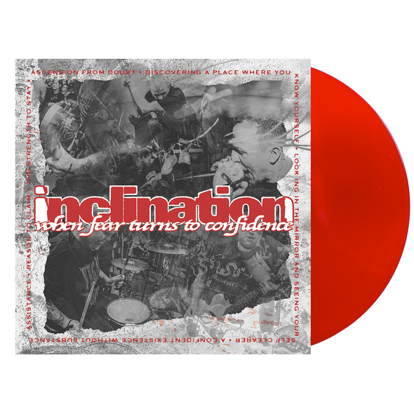 "When Fear Turns to Confidence 12"" Vinyl (Red) // PREORDER"