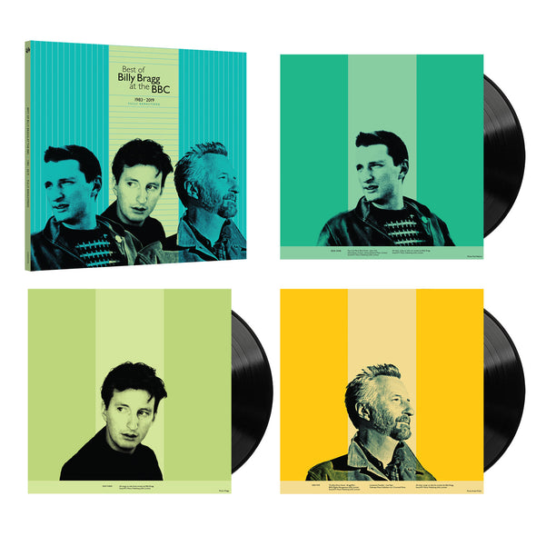 "Best Of Billy Bragg At The BBC 1983 - 2019 12"" Vinyl (3LP - Black) // PREORDER"