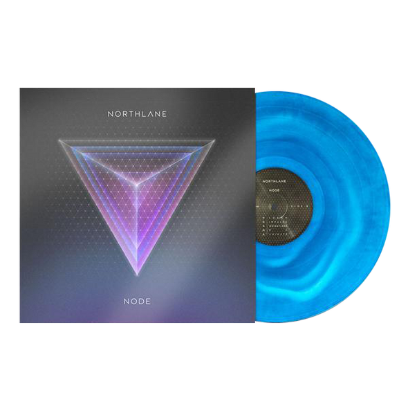 "Northlane Official Merch - Node (12"" 2-Tone Blue Marble Vinyl LP)"
