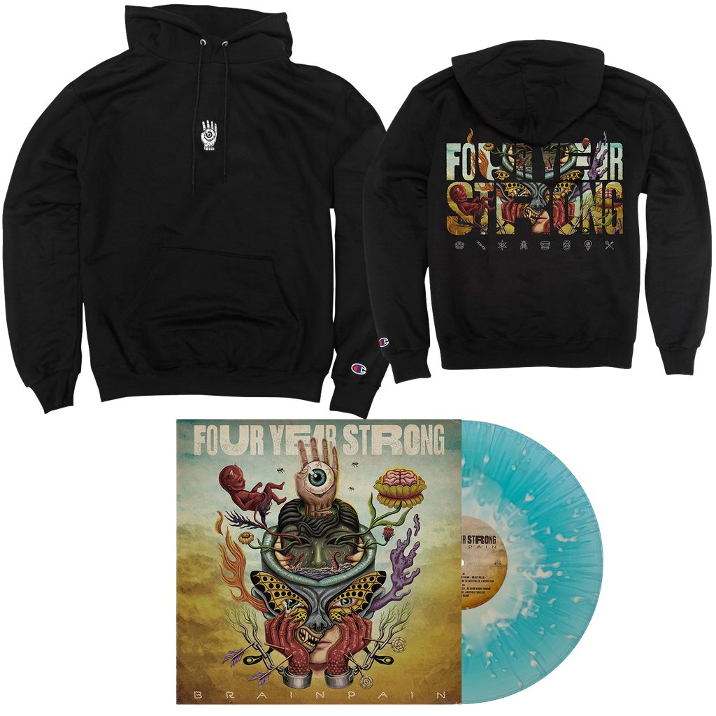"Brain Pain 12"" Vinyl & Hood Bundle // PREORDER"