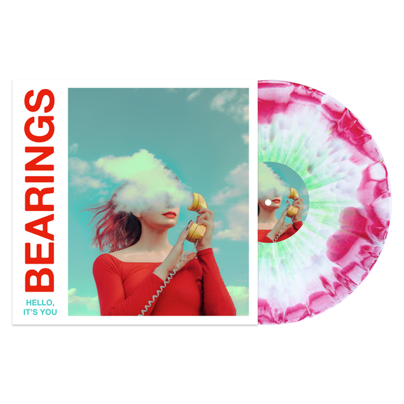 "Hello, It's You 12"" Vinyl (White / Red(ish) Aside/Bside with Heavy Doublemint Splatter) // PREORDER"