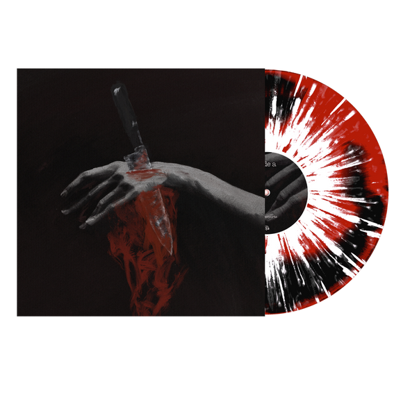 "Nothing Left To Love 12"" Vinyl (Black & Red with heavy white & silver splatter) // PREORDER"