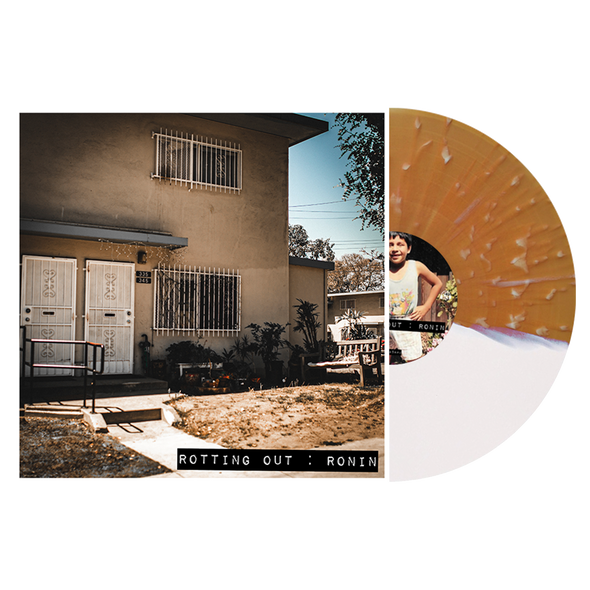 "Ronin 12"" Vinyl (Half Beer / Half White w/ Heavy Bone Splatter on the Beer Side) // PREORDER"