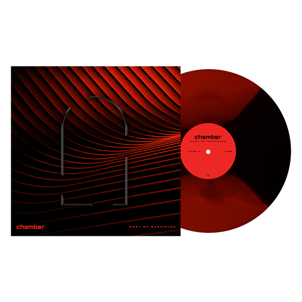 "Cost of Sacrifice 12"" Vinyl (Blood Red & Black Butterfly) // PREORDER"
