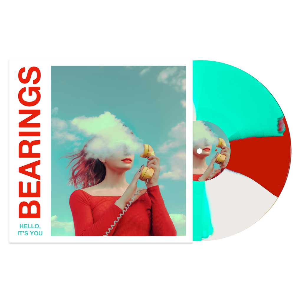 "Hello, It's You 12"" Vinyl (Milky Clear w/ Red(ish) & Doublemint Twist) // PREORDER"