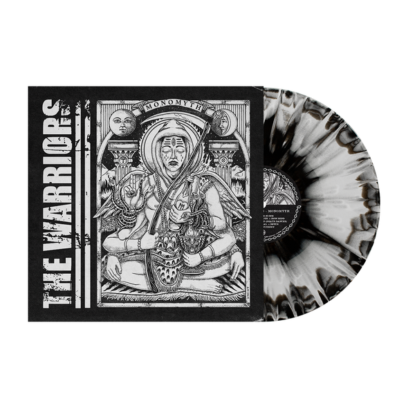 "Monomyth 12"" Vinyl (Black / White aside side with Silver splatter)"