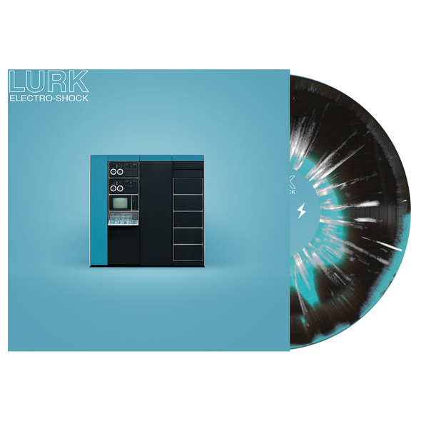 LURK // Electro-Shock LP (Electric Blue & Black w/ Heavy White Splatter)
