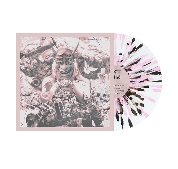 "Foreign Language 12"" Vinyl (Baby Pink & White Aside/Bside w/ black splatter)"