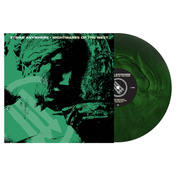 Nightmares of the West LP (Swamp Green/Doublemint Galaxy) // PREORDER