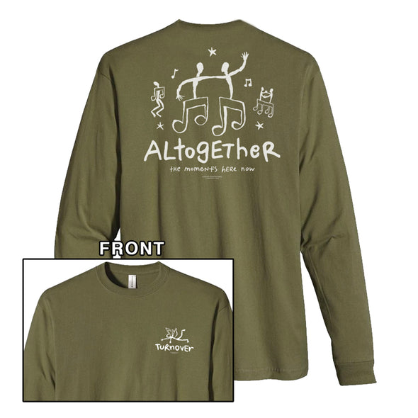 Altogether Long Sleeve (Olive) // PREORDER