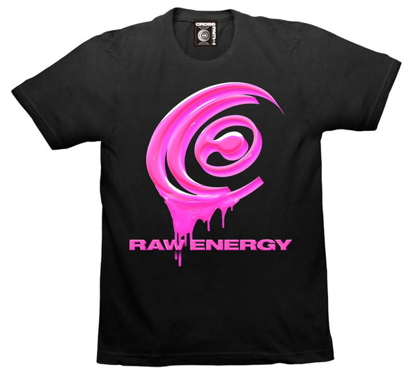 Raw Energy Tee (Black)