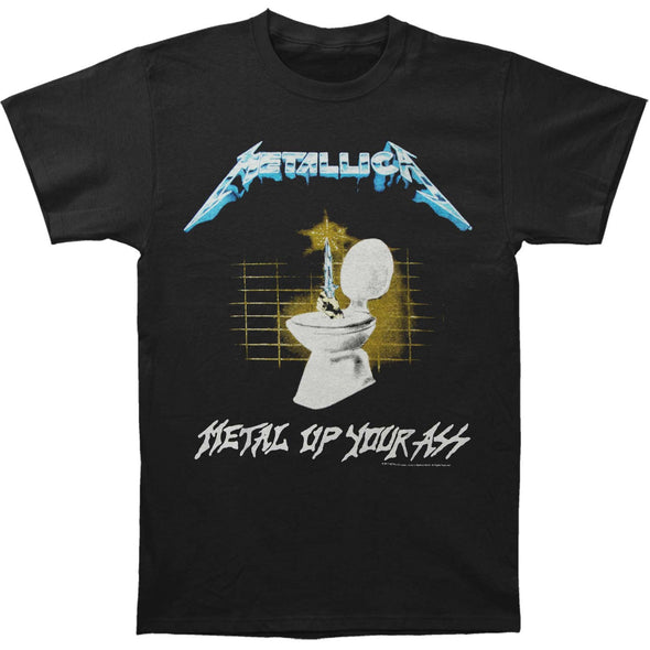 Metal Up Your Ass / Guy In Electric Chair Tee (Black)