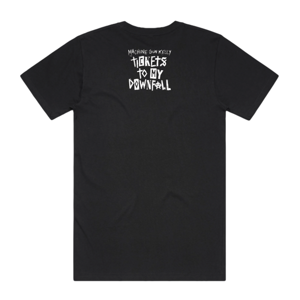 Tickets To My Downfall Guitar Tee (Black)