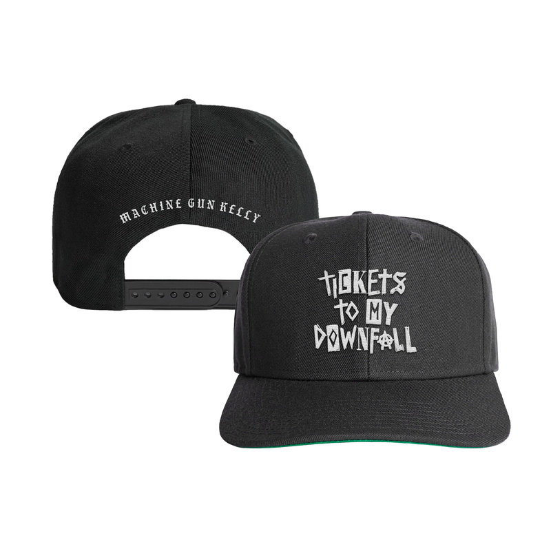 Tickets To My Downfall Snapback (Black)