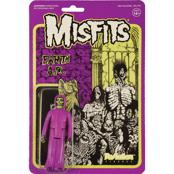 Misfits merch The Earth A.D. Figure (Purple)