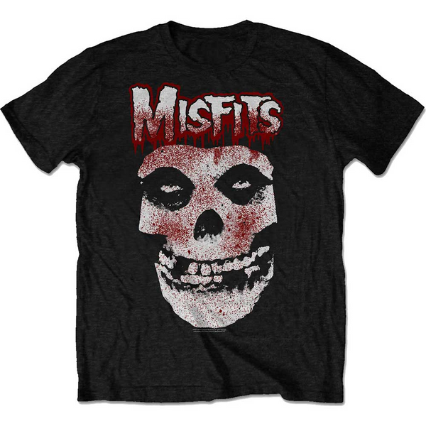 Blood Drip Skull Tee (Black)
