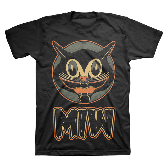 Motionless In White Official Merch - Smiling Cat (Black Tee) (4401951363)