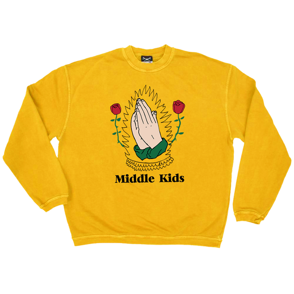 GOLD HANDS CREWNECK