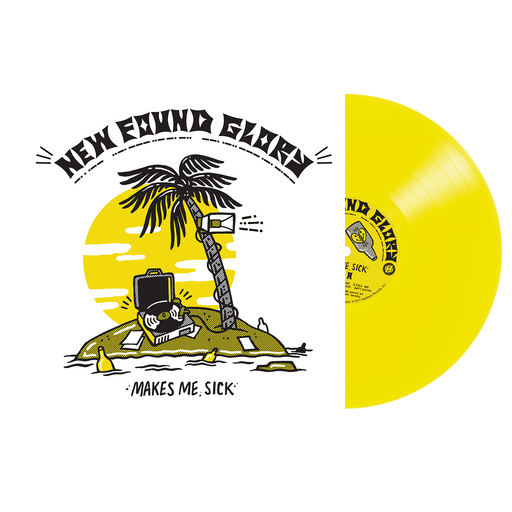 "New Found Glory Official Merch - Makes Me Sick 12"" Vinyl (Yellow)"