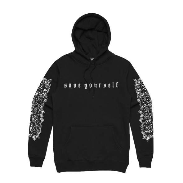 Save Yourself Hoodie (Black)