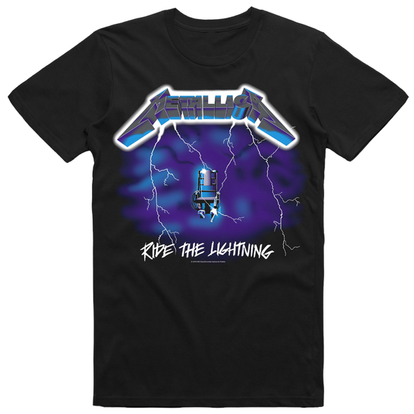 Ride The Lightning Tee (Black)
