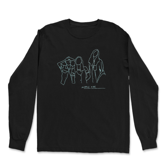 Black Outline Longsleeve