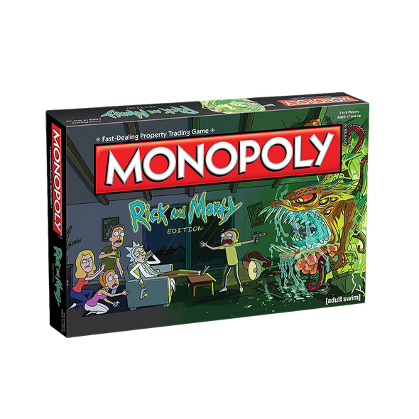 Monopoly Rick and Morty Collectors Edition Board Game