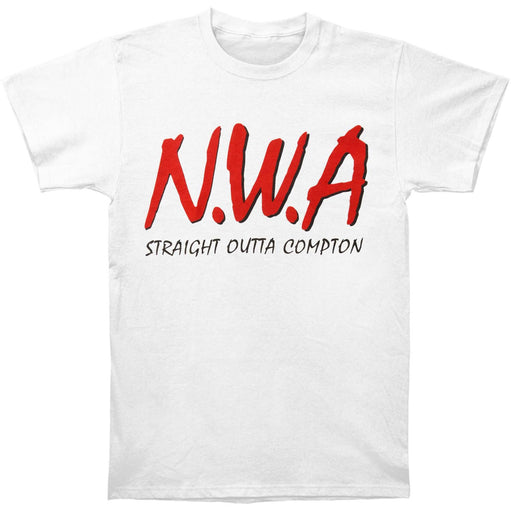 Straight Outta Compton Tee (White)