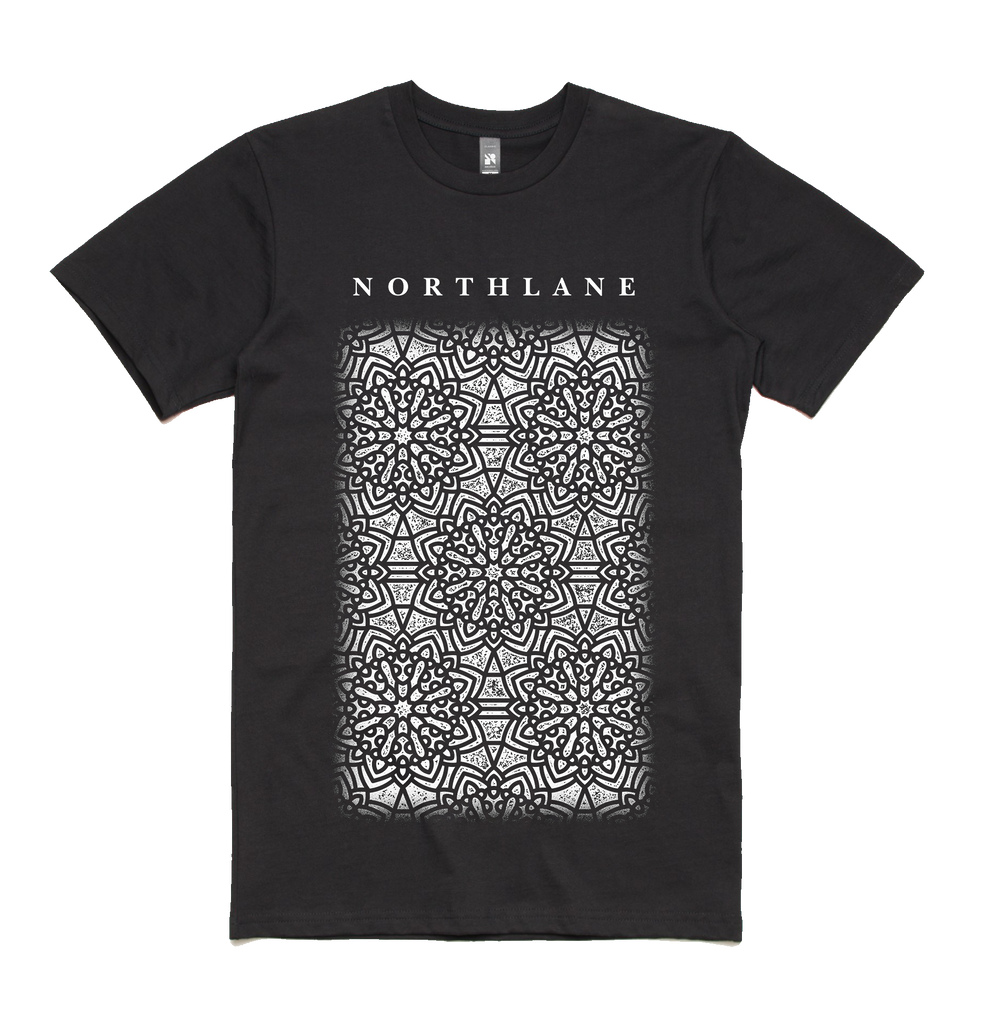 Northlane merch Mandala Tee (Black)