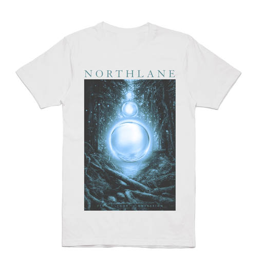 Northlane merch Sphere Tee (White)