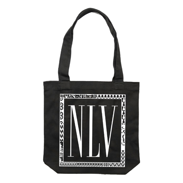 NLV Records Official Merch - NLV Tote (BLACK)