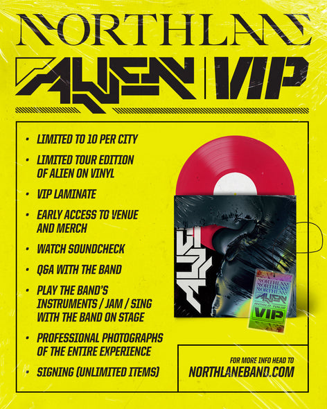 ALIEN TOUR - VIP UPGRADE