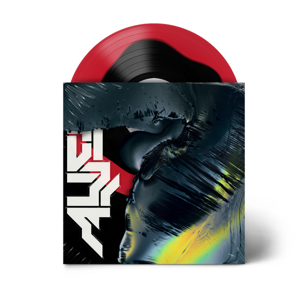 "Alien 12"" Vinyl (Black in Red)"