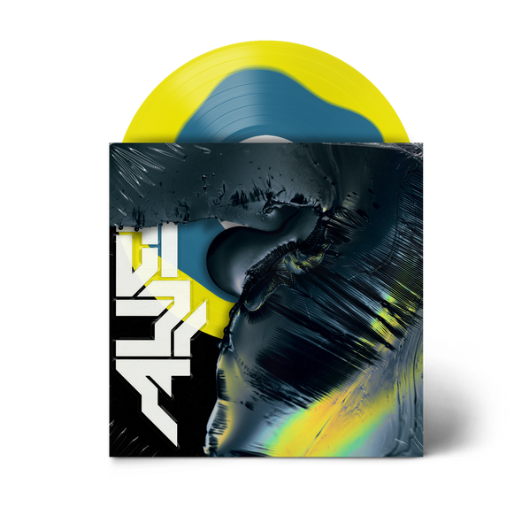 "Alien 12"" Vinyl (Blue in Yellow)"