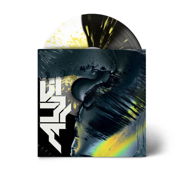 "Alien 12"" Vinyl (Half Ultra Clear/Half Black with Yellow Splatter)"
