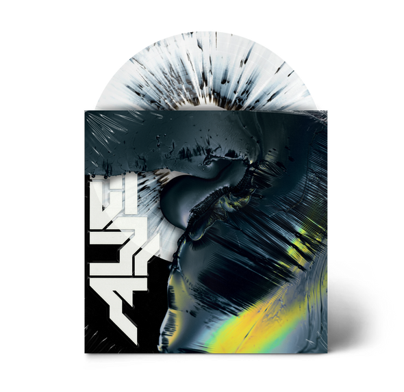 "Alien 12"" Vinyl (White with Black Splatter)"
