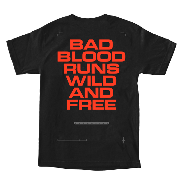 Bad Blood Runs Wild Tee (Black)