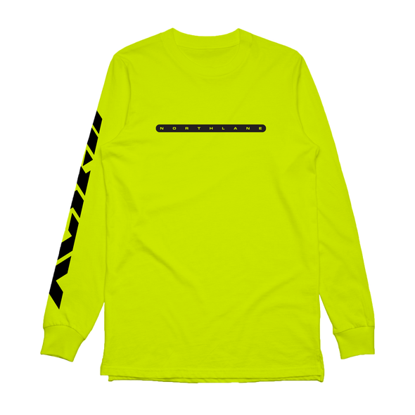 Alien Tracklist Long Sleeve (Safety Green)