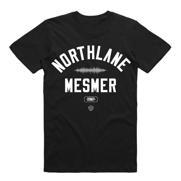 Northlane Official Merch - Mesmer Varsity Tee (Black)