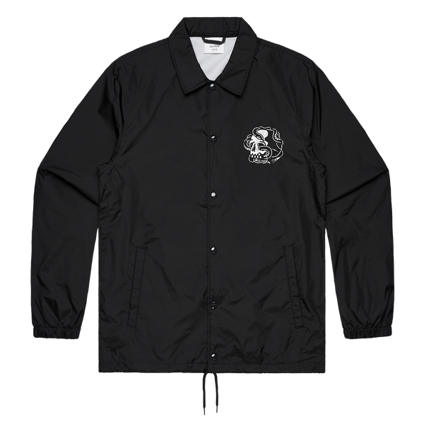 Night Skull Coach Jacket (Black)