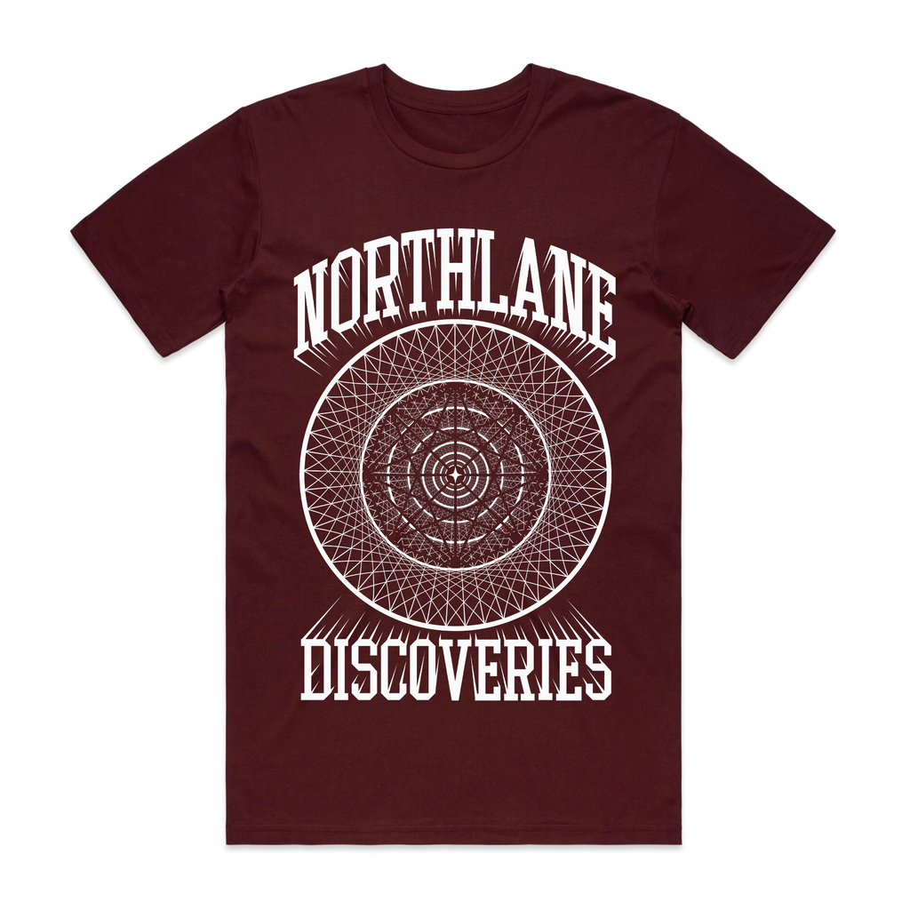 Discoveries Circle Tee (Burgundy)