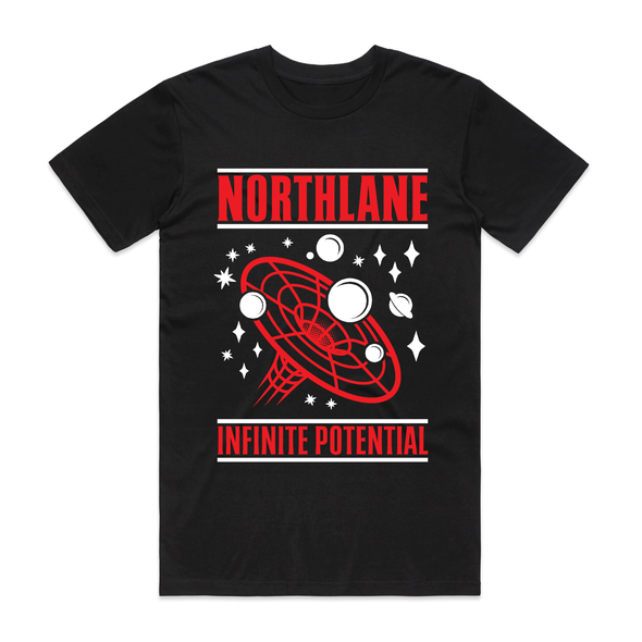 Infinite Potential Tee (Black/Red)