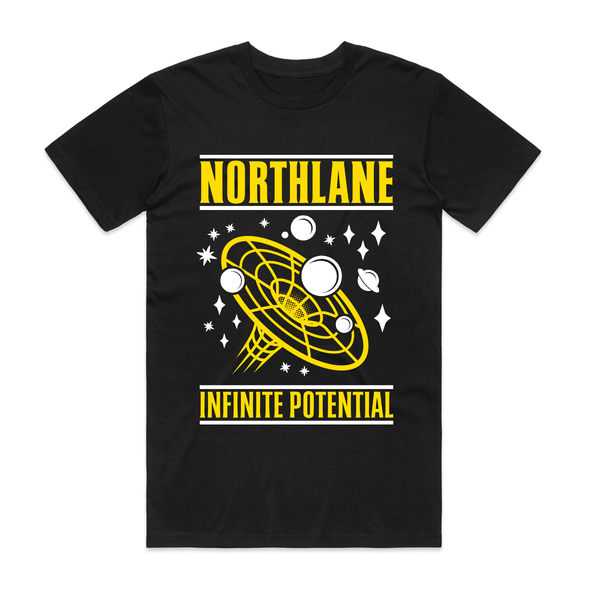 Infinite Potential Tee (Black/Yellow)