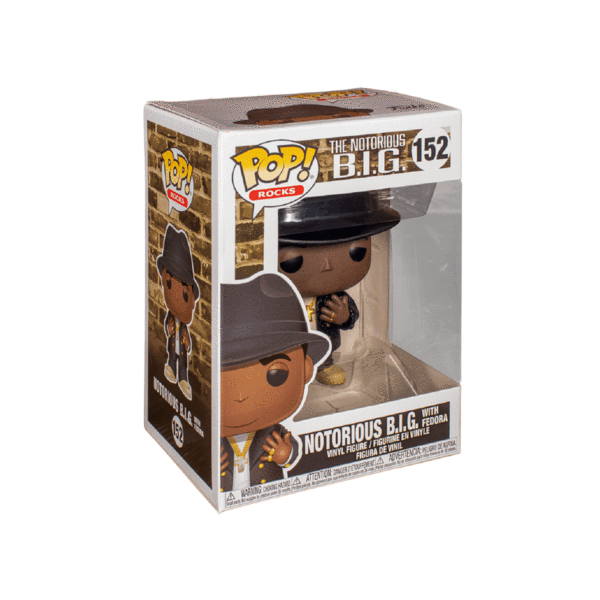 Notorious B.I.G. - Notorious BIG Black Fedora Pop! Vinyl Figure